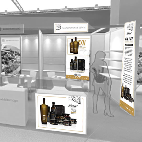 Stand Design for Anuga SA Pavilion for Fine Food, Cologne, Germany