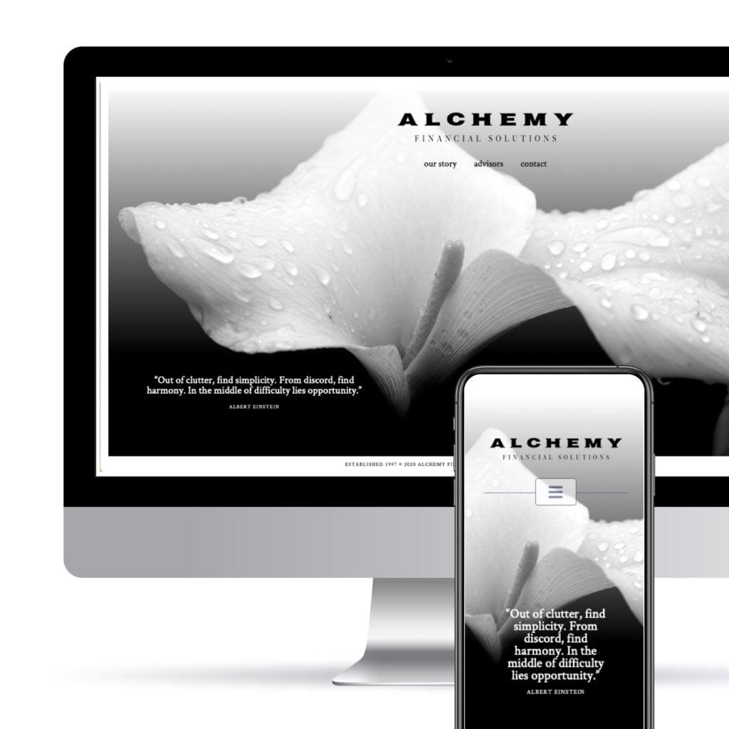 Alchemy Financial Solutions website
